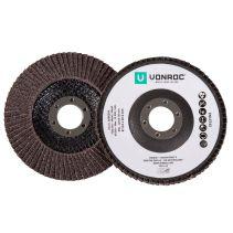 VONROC Lamellenscheiben 115mm Stück | Für Winkelschleifer