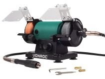Bench grinder 150W - 75mm | With flexible drive shaft