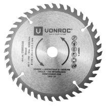VONROC Kreissägeblatt 150 x 16mm - 40 Zähne - für Holz - universal