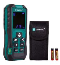 Laser distance meter 40m | Length - volume - area - height - distance