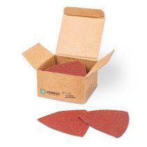 VONROC Schleifpapier Set 50 tlg. | Für Multiwerkzeug