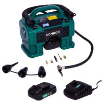 Compressor 20V - 12V - 2.0Ah | Incl. 2 batteries and charger