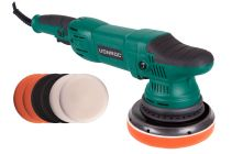 Dual action polisher 1050W - 150mm | Incl. 7 polishing pads