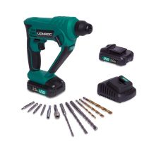 Rotary hammer 20V - 2.0Ah | Incl. 2 batteries and charger