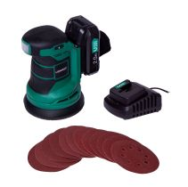 Random orbital sander 20V - 2.0Ah | Incl. battery and charger