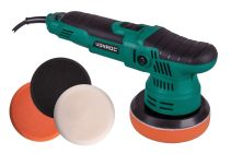 Dual action polisher 650W - 125mm | Incl. 4 polishing pads