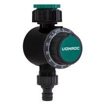 VONROC Water timer - Mechanical | Adjustable time 0 - 120 minutes